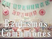 Bautismos - Comuniones